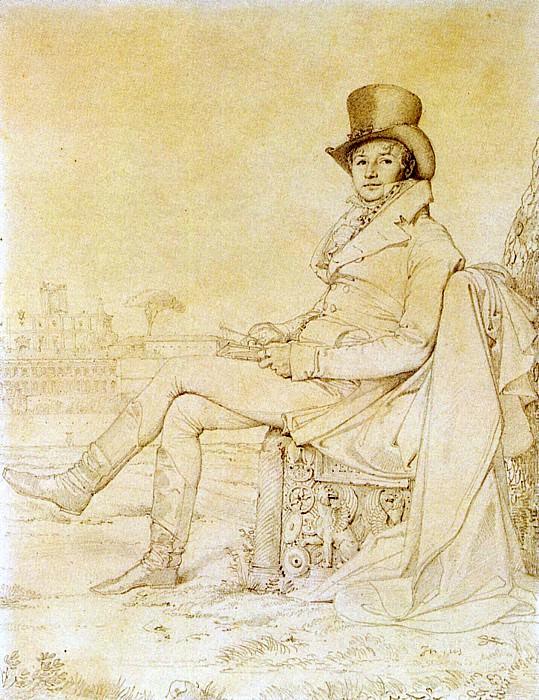 Ingres Lucien Bonaparte. Jean Auguste Dominique Ingres