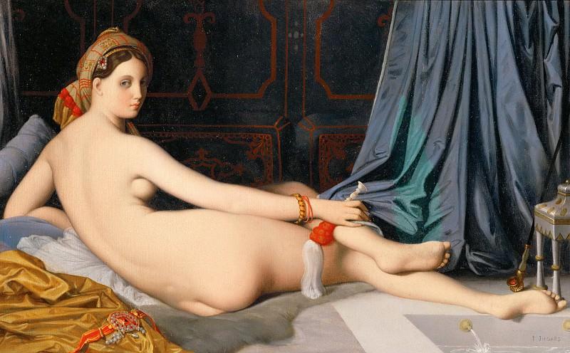 Odalisque. Jean Auguste Dominique Ingres