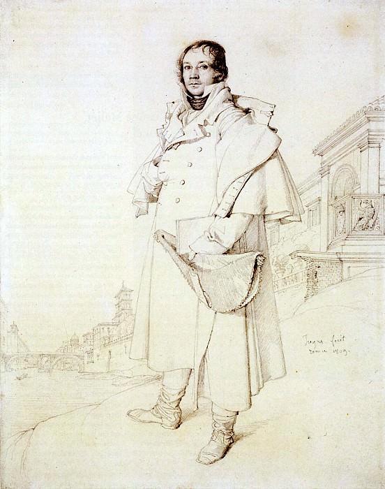 Ingres Charles Francois Mallet. Jean Auguste Dominique Ingres