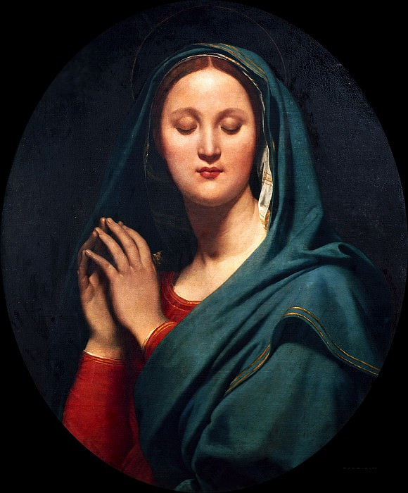 Virgin of the Blue Vei