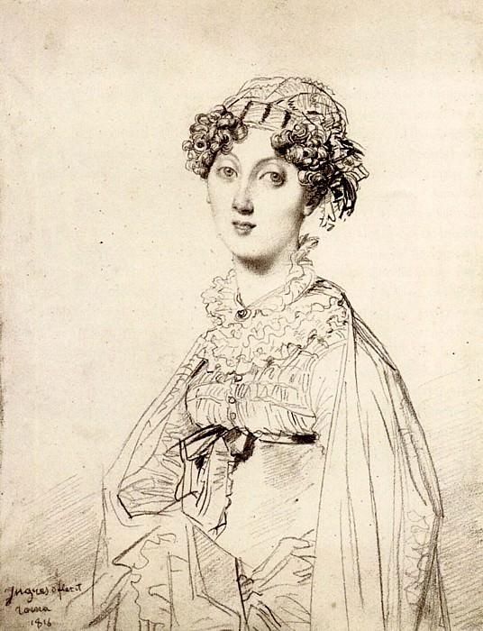 Ingres Lady William Henry Cavendish Bentinck born Lady Mary Acheson2. Jean Auguste Dominique Ingres