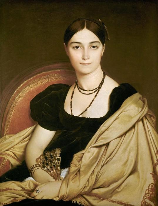 Portrait de Madame Devaucey. Jean Auguste Dominique Ingres