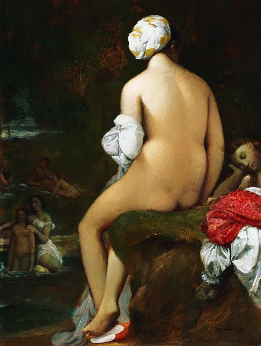 The Small Bather. Jean Auguste Dominique Ingres