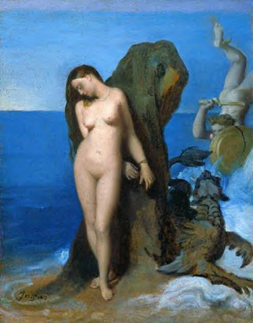 Perseus and Andromeda. Jean Auguste Dominique Ingres