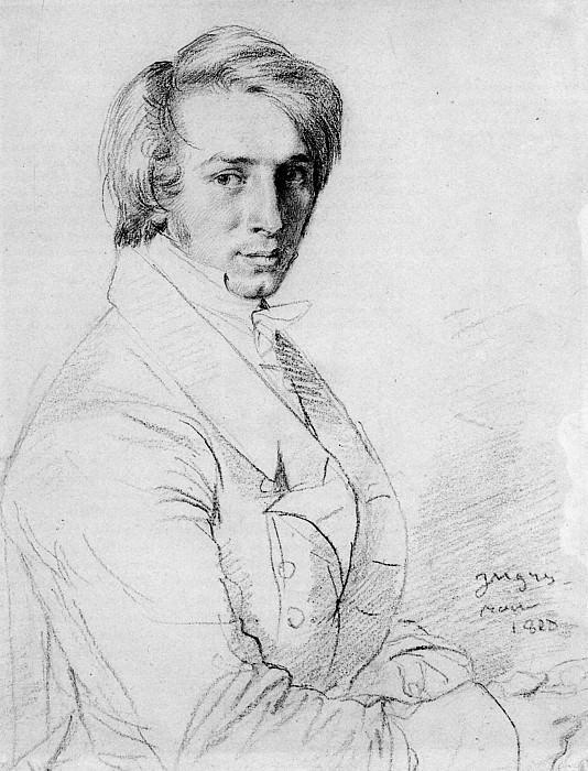 Ingres Ursin Jules Vatinelle. Jean Auguste Dominique Ingres