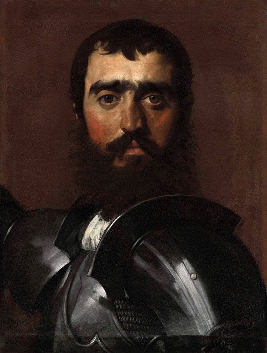 Condottiere. Jean Auguste Dominique Ingres
