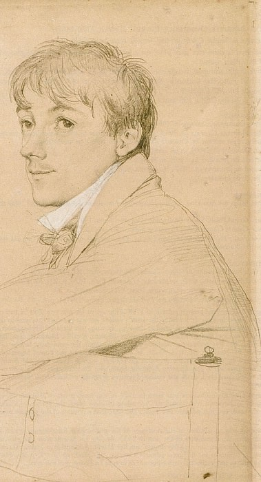 Jean-Louis Provost seated. Jean Auguste Dominique Ingres