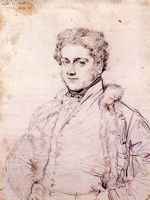 Ingres Charles Robert Cockerell. Jean Auguste Dominique Ingres