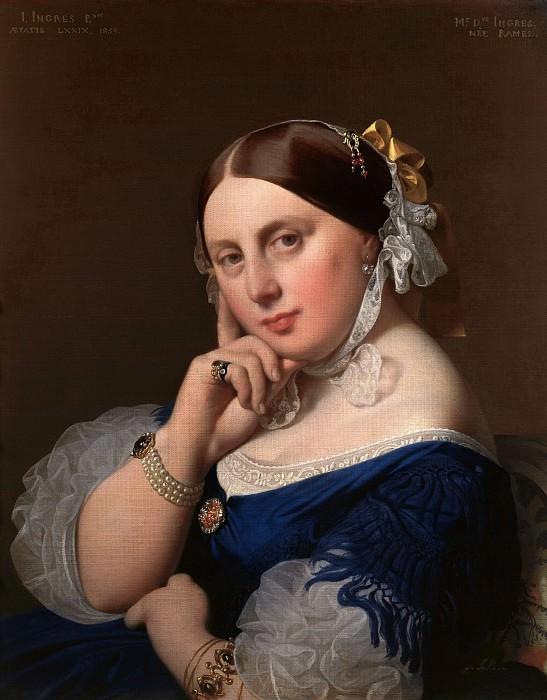 Portrait de Mme Ingres, nee Ramel (1808–1887). Jean Auguste Dominique Ingres
