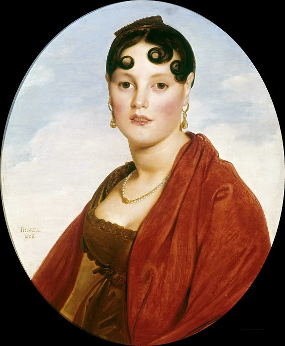 Madame Aymon. Jean Auguste Dominique Ingres