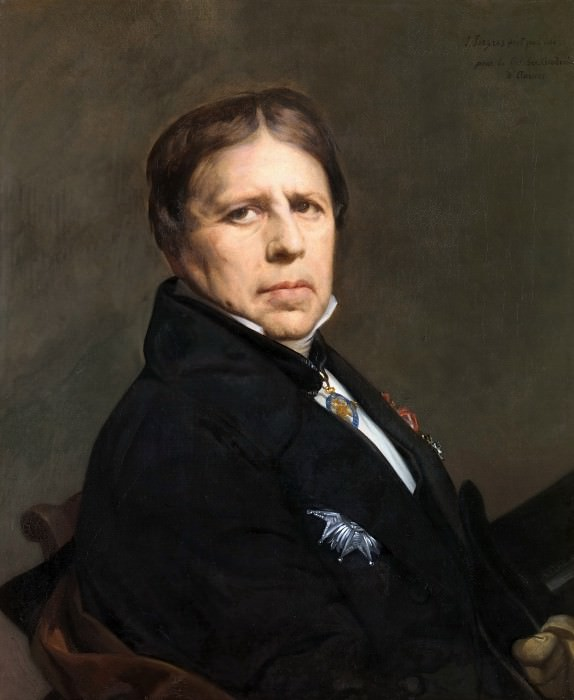 Self-Portrait. Jean Auguste Dominique Ingres