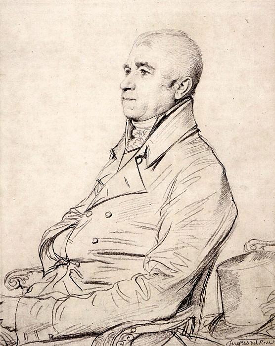 Ingres The Reverend Joseph Church. Jean Auguste Dominique Ingres