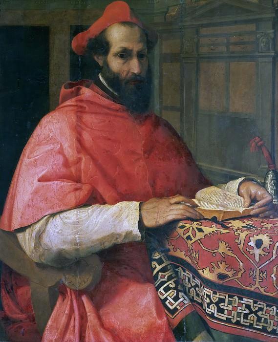 Portrait of Cardinal Marcello Cervini degli Spannocchi. Jacopino del Conte