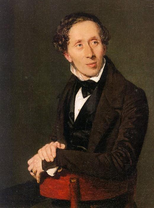 Hans Christian Andersen. Christian Albrecht Jensen