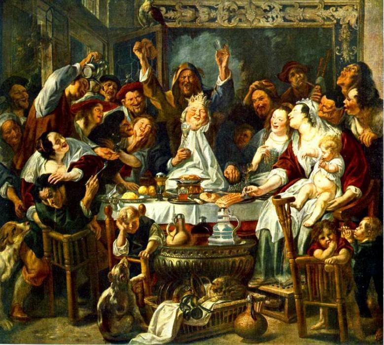 The King Drinks2. Jacob Jordaens
