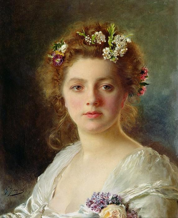 Flora. Gustave Jean Jacquet