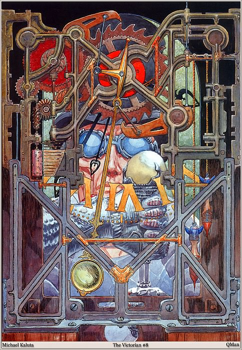 1497 The Victorian. Micheal Kaluta