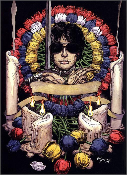 Neil Gaimans Death and Tulips. Micheal Kaluta