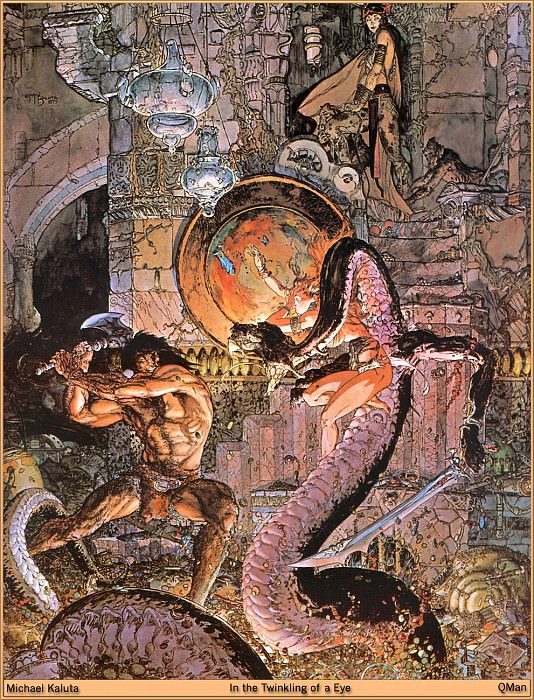 In the Twinkling of a Eye. Micheal Kaluta