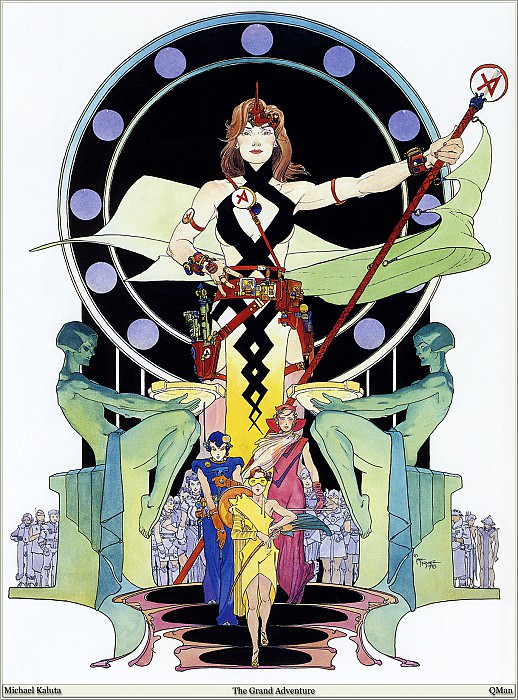 The Grand Adventure. Micheal Kaluta