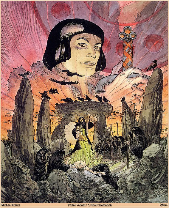Prince Valiant A Final Incantation. Micheal Kaluta