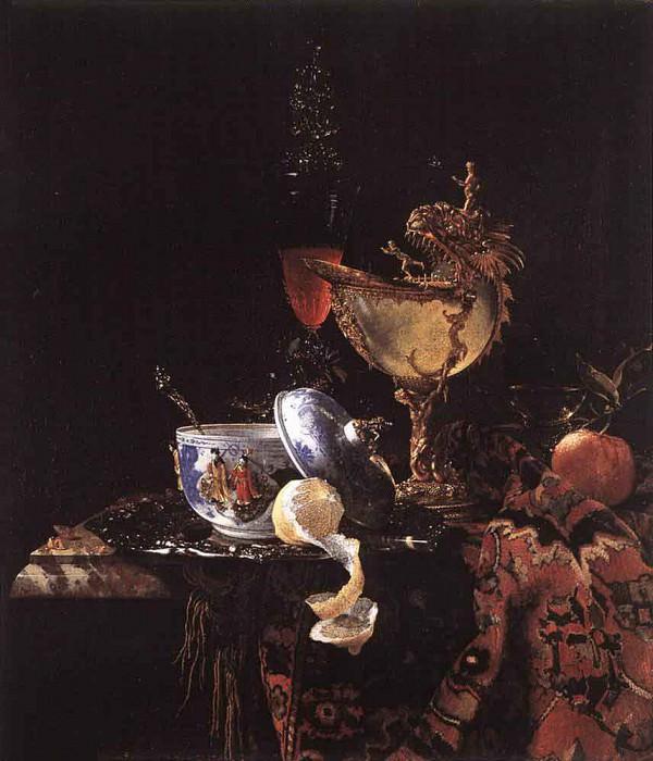Still Life With A Nautilus Cup. Willem Kalf
