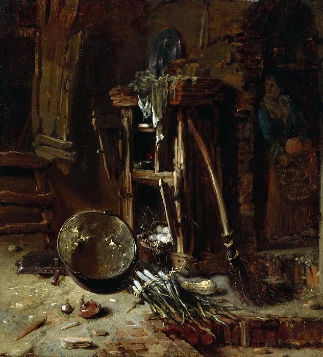 Кухонный уголок. Виллем Кальф
