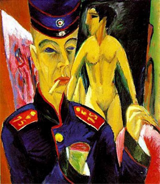 4DPictErrchner. Ernst Ludwig Kirchner