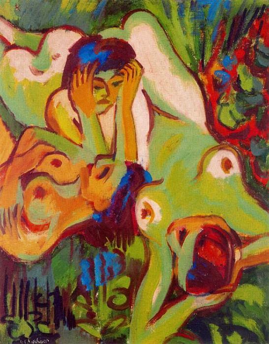4DPict6ur. Ernst Ludwig Kirchner
