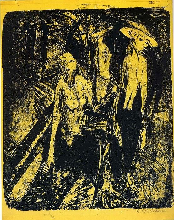 Ernst Ludwig Kirchner 042. Эрнст Людвиг Кирхнер