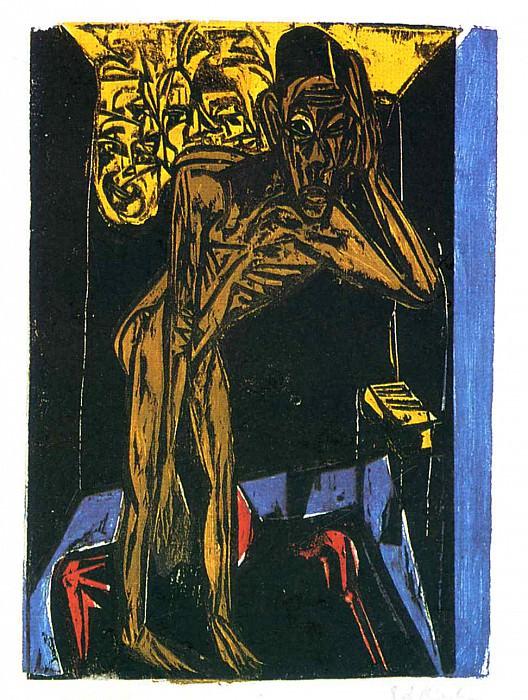 Ernst Ludwig Kirchner 085. Эрнст Людвиг Кирхнер