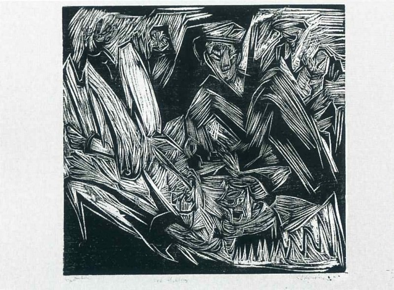 Ernst Ludwig Kirchner 078. Эрнст Людвиг Кирхнер