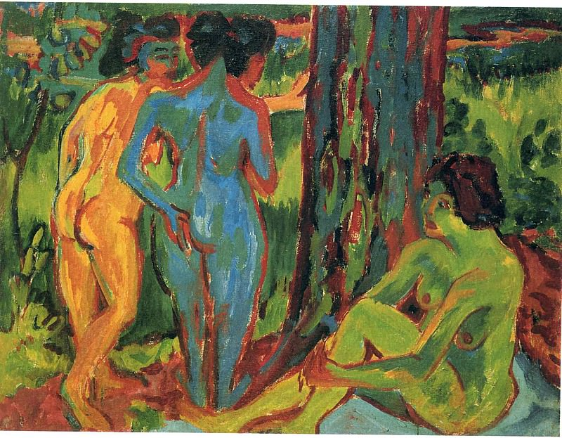 Ernst Ludwig Kirchner 025. Эрнст Людвиг Кирхнер
