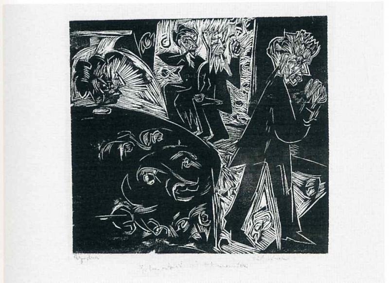 Ernst Ludwig Kirchner 074. Эрнст Людвиг Кирхнер