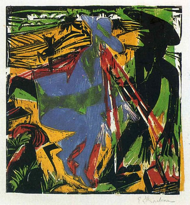 Ernst Ludwig Kirchner 087. Эрнст Людвиг Кирхнер