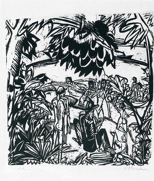 Ernst Ludwig Kirchner 027. Эрнст Людвиг Кирхнер