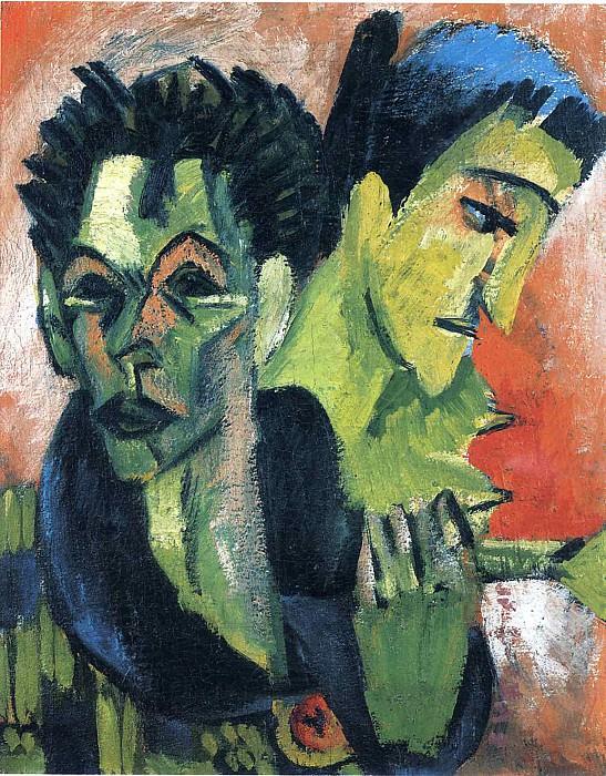 Ernst Ludwig Kirchner art - 005. Эрнст Людвиг Кирхнер