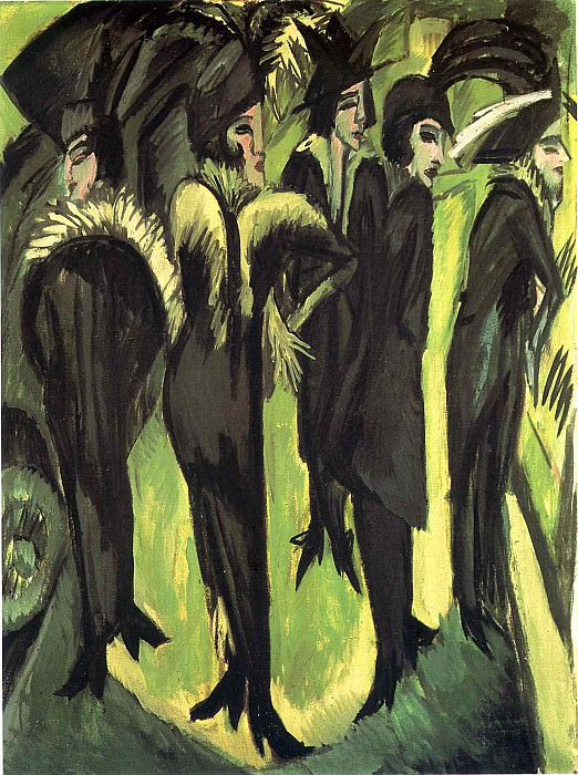 Ernst Ludwig Kirchner 031. Эрнст Людвиг Кирхнер