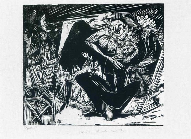 Ernst Ludwig Kirchner 076. Эрнст Людвиг Кирхнер