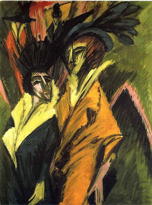 Ernst Ludwig Kirchner 035. Эрнст Людвиг Кирхнер