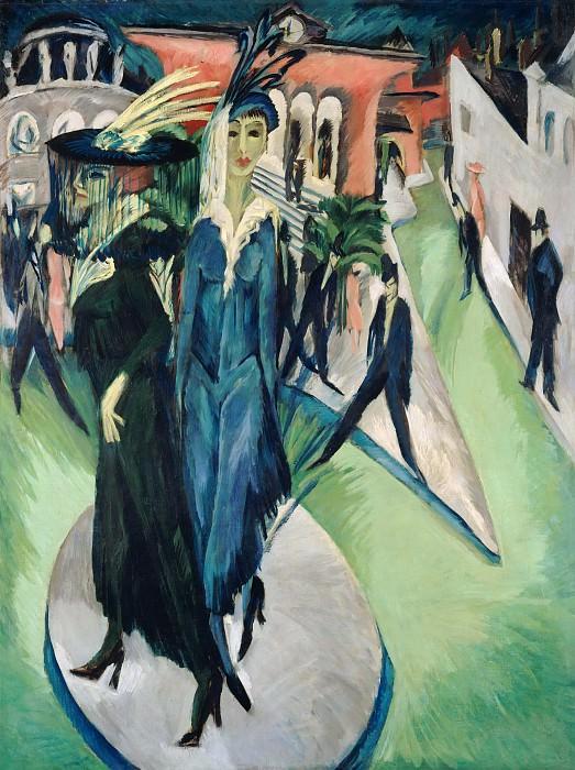 Potsdamer Platz, Berlin. Ernst Ludwig Kirchner