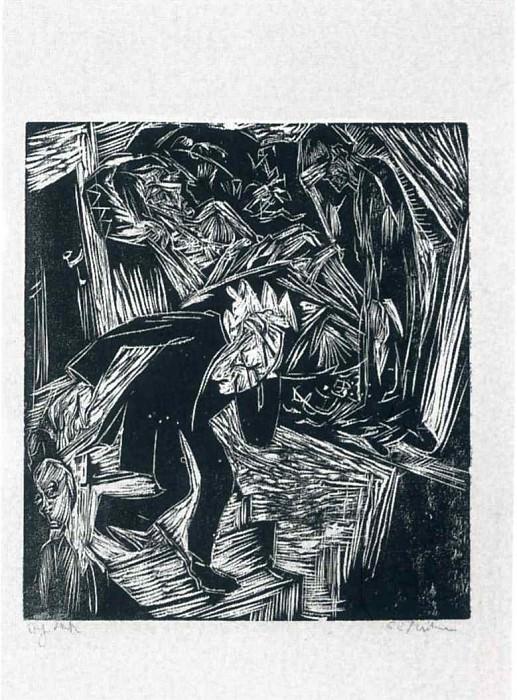 Ernst Ludwig Kirchner 079. Эрнст Людвиг Кирхнер