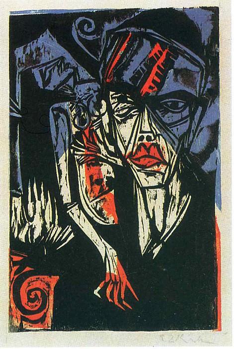 Ernst Ludwig Kirchner 084. Эрнст Людвиг Кирхнер