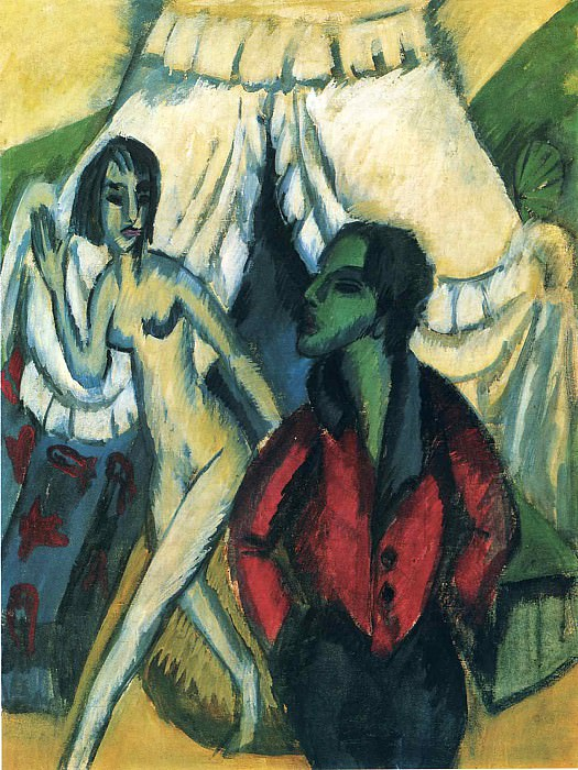 Ernst Ludwig Kirchner 036. Эрнст Людвиг Кирхнер