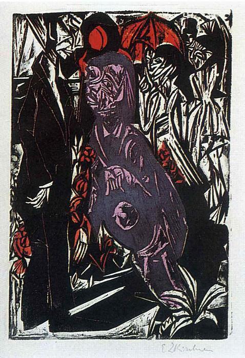 Ernst Ludwig Kirchner 082. Эрнст Людвиг Кирхнер