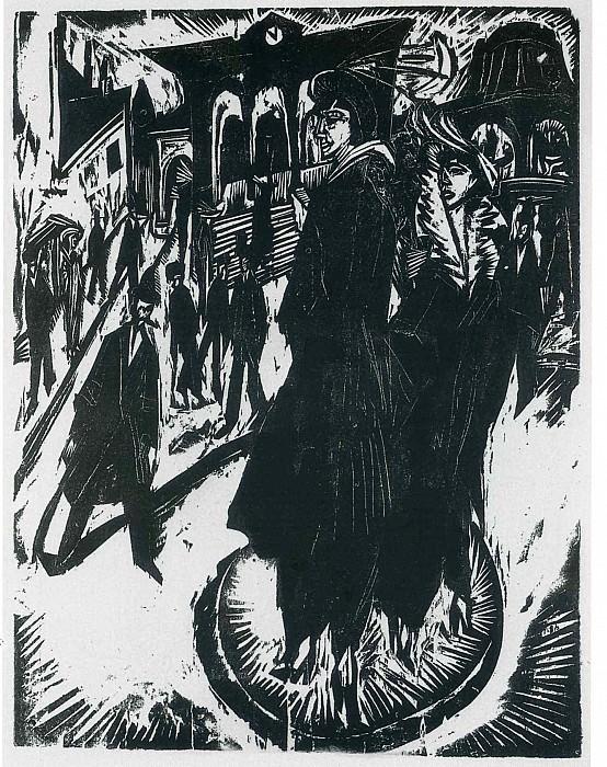 Ernst Ludwig Kirchner 043. Эрнст Людвиг Кирхнер