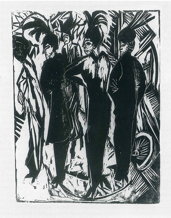 Ernst Ludwig Kirchner 045. Эрнст Людвиг Кирхнер