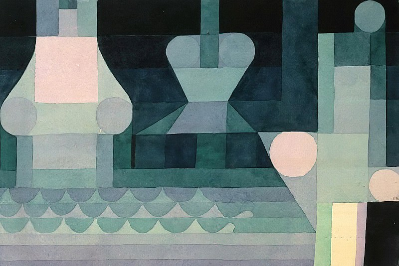 Sluices. Paul Klee