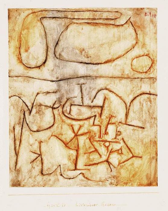 Historic soil, 1939, Watercolor on paper, Barnes founda. Paul Klee
