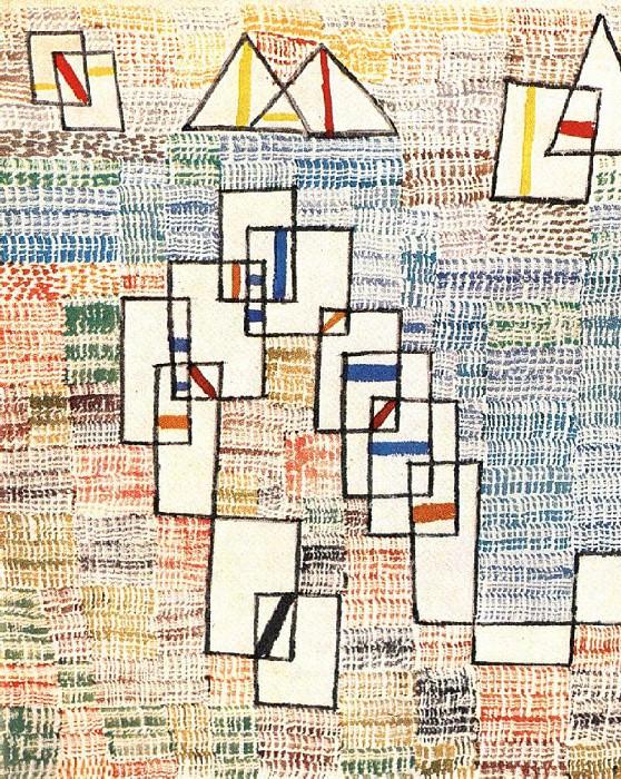COTE DE PROVENCE 6  (1927). Paul Klee